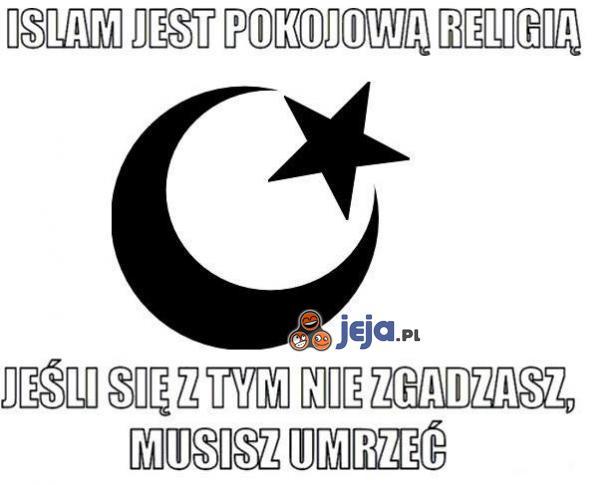 Islam jest pokojową religią