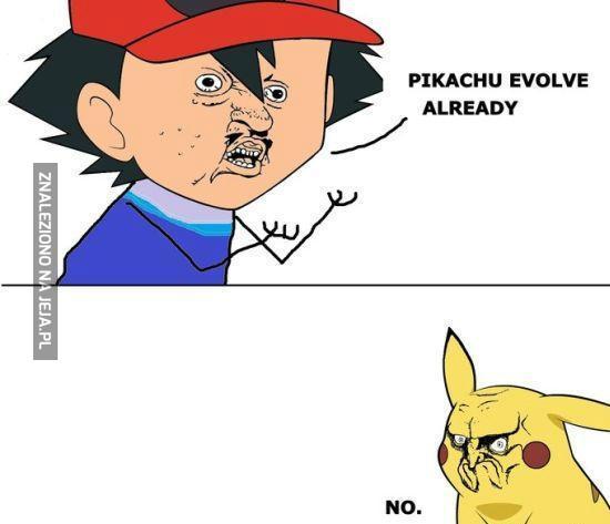 Pikachu, no co jest z tobą?