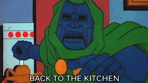 Wracaj do kuchni!