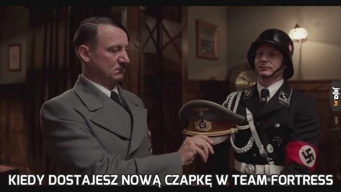 Kiedy dostajesz nową czapkę w Team Fortress