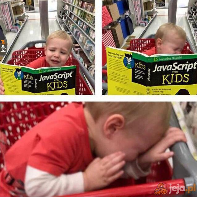 Chyba nie zostanie programistą