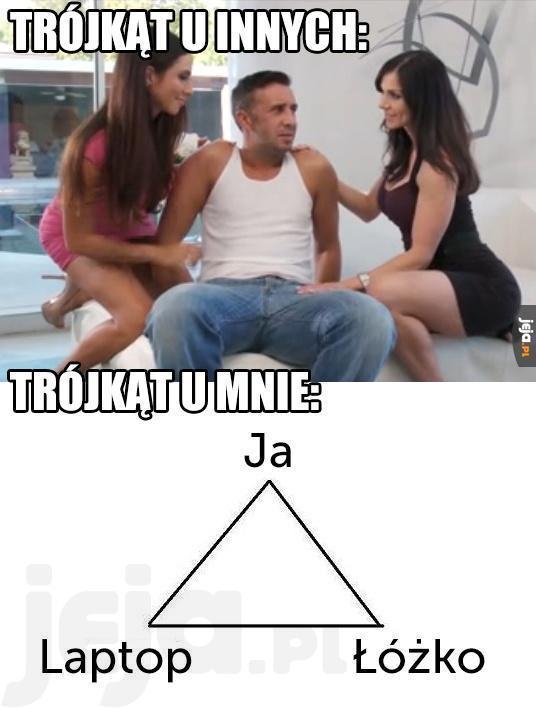 Jakie życie, takie trójkąty