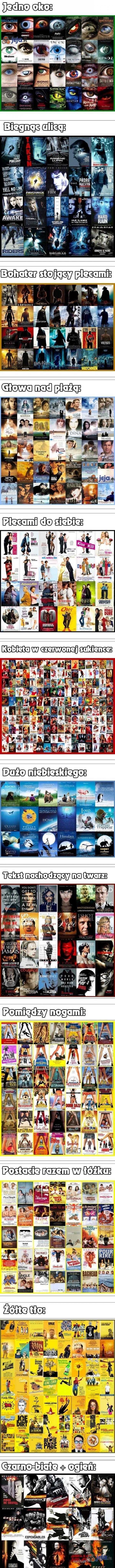 Powtarzalność plakatów filmowych