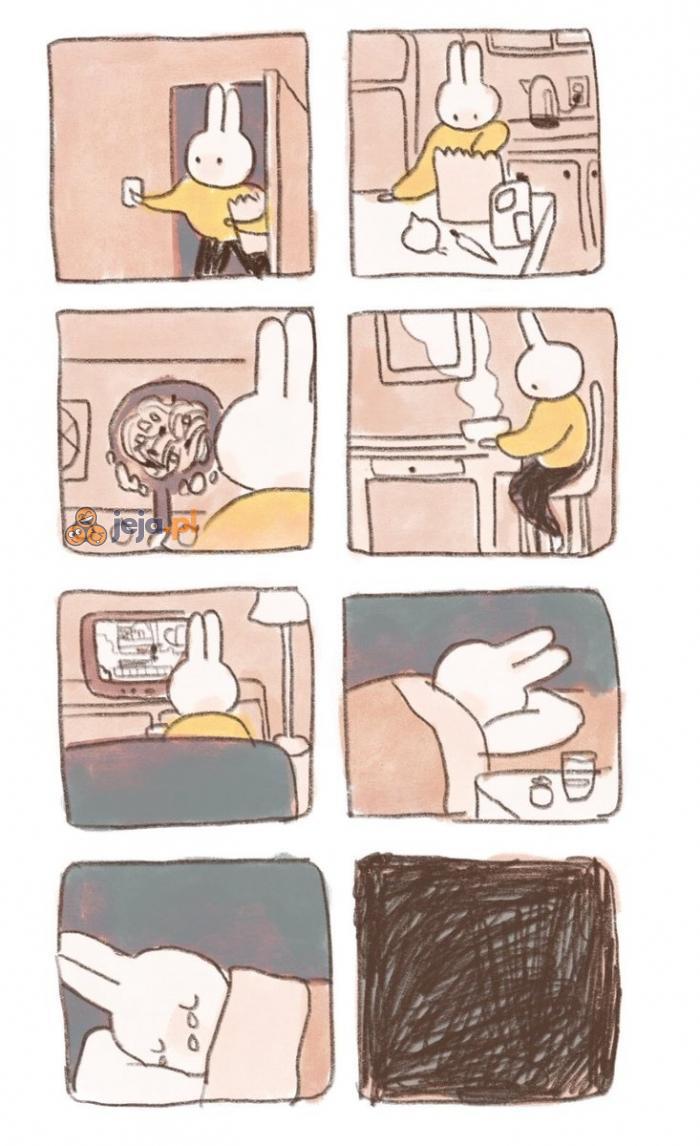 Krótki komiks o samotności