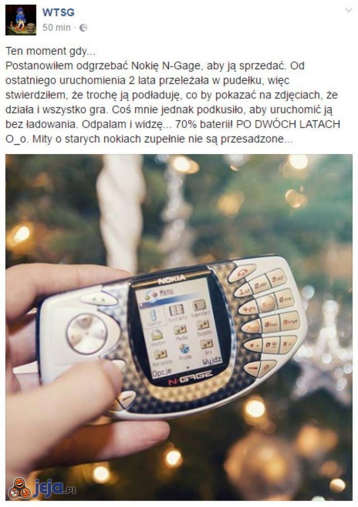 Kiedyś to były telefony...