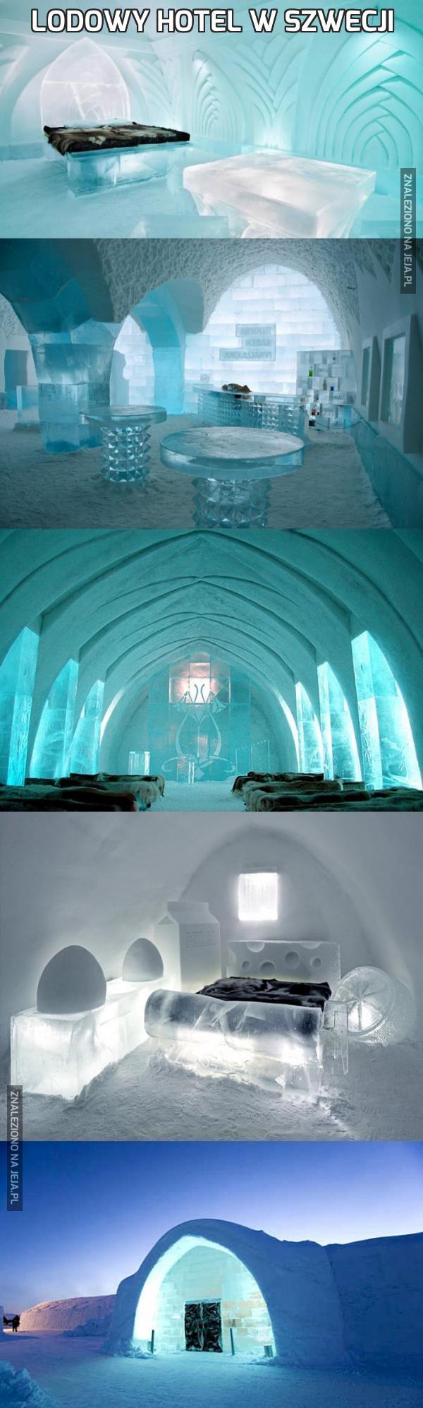 Lodowy hotel w Szwecji