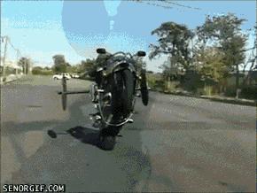 Ekstremalna jazda bez trzymanki