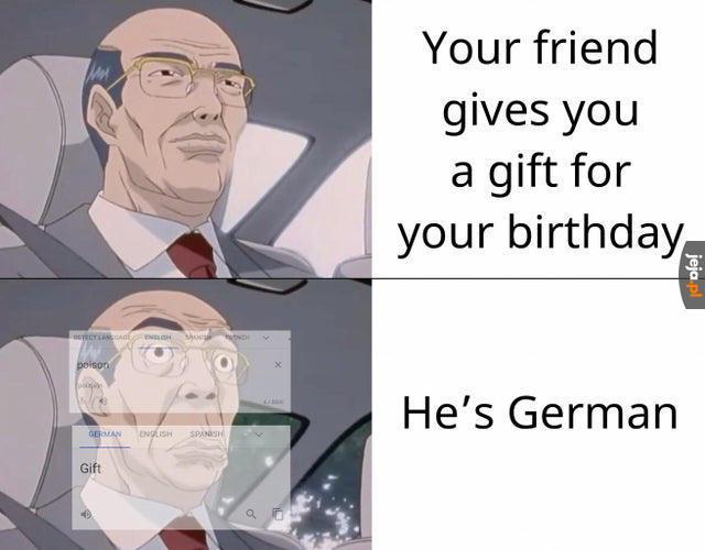 Angielsko-niemieckie śmieszki