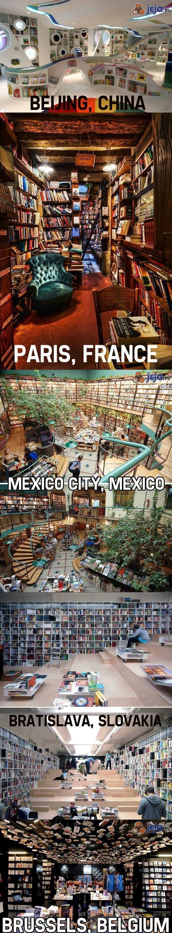 Najfajniejsze księgarnie na świecie
