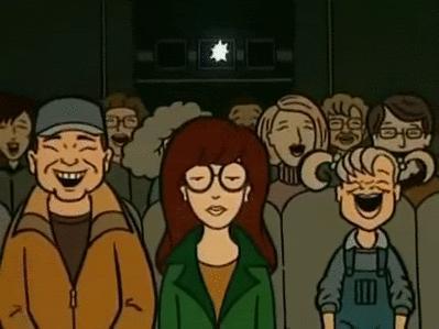 Kiedy jestem w kinie na komedii