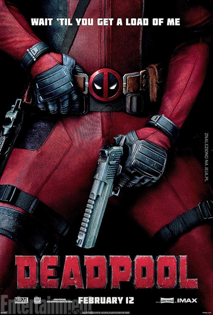 Nowy plakat Deadpoola