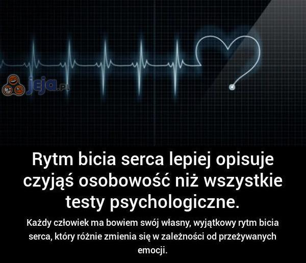 Unikalny rytm bicia serca