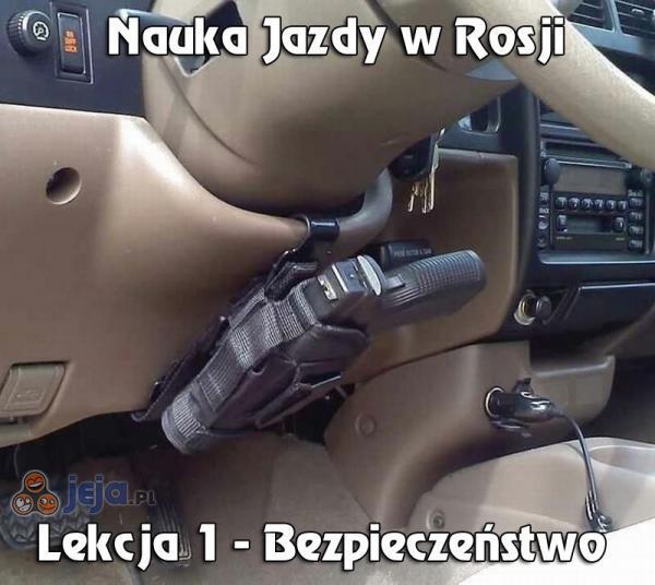 Nauka jazdy w Rosji