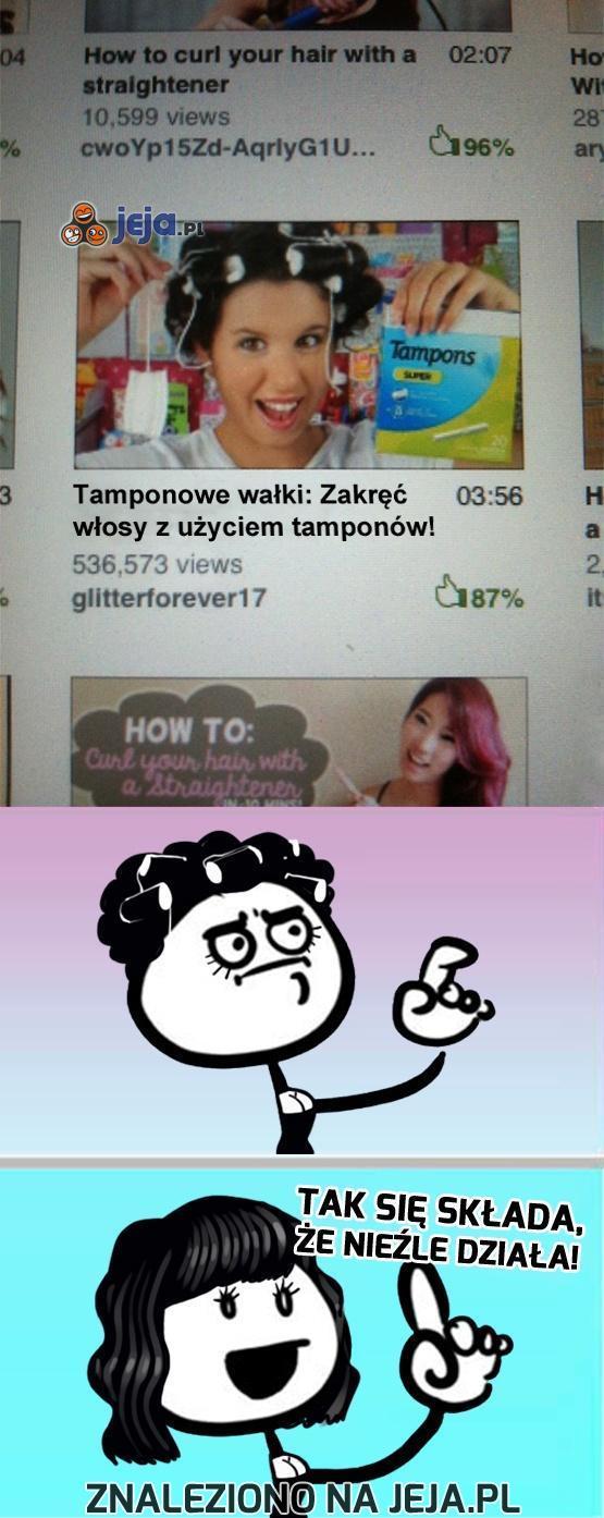 Już pół miliona kobiet zaufało tamponom!