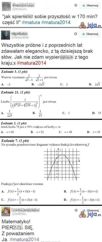 Matematyka taka trudna!