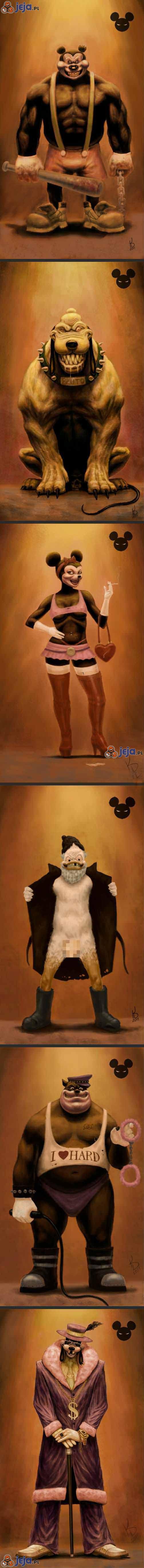 Gdyby postacie Disney'a były złe