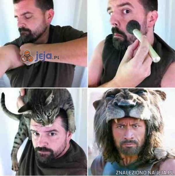 Prawdziwy mistrz makijażu