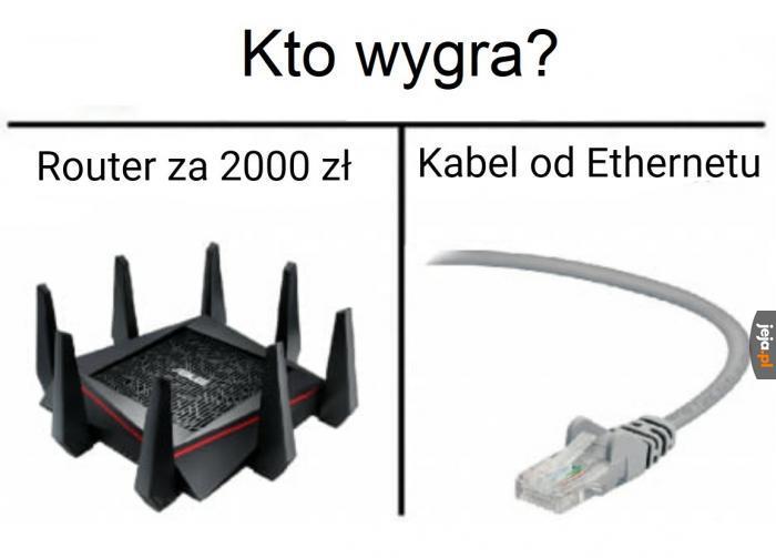 Kabel od ethernetu za 20 zł