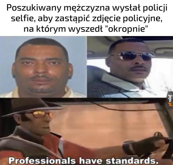 Profesjonalista, nie ma co