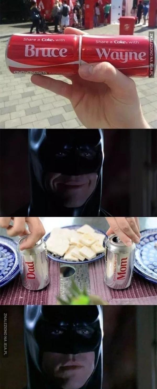 Dręczenia Batmana colą ciąg dalszy