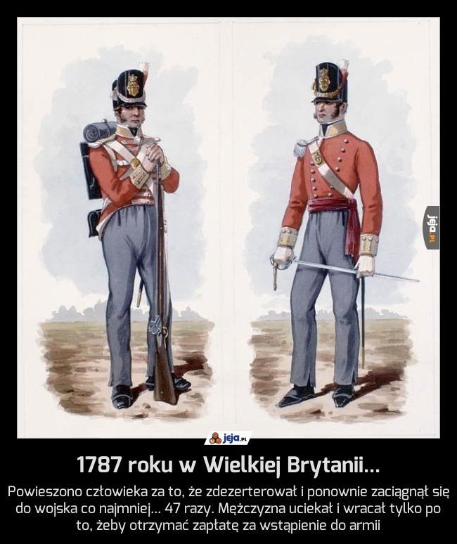 1787 roku w Wielkiej Brytanii...