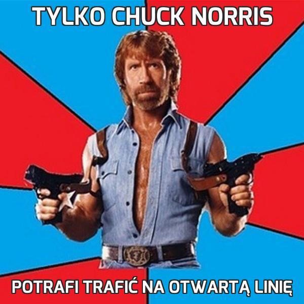 Tylko Chuck Norris