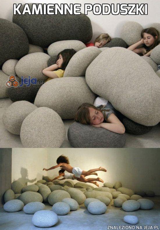 Kamienne poduszki