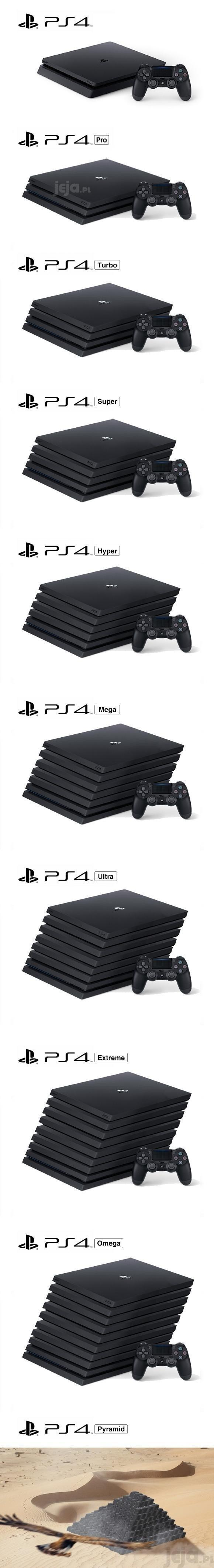 Nowe PlayStation