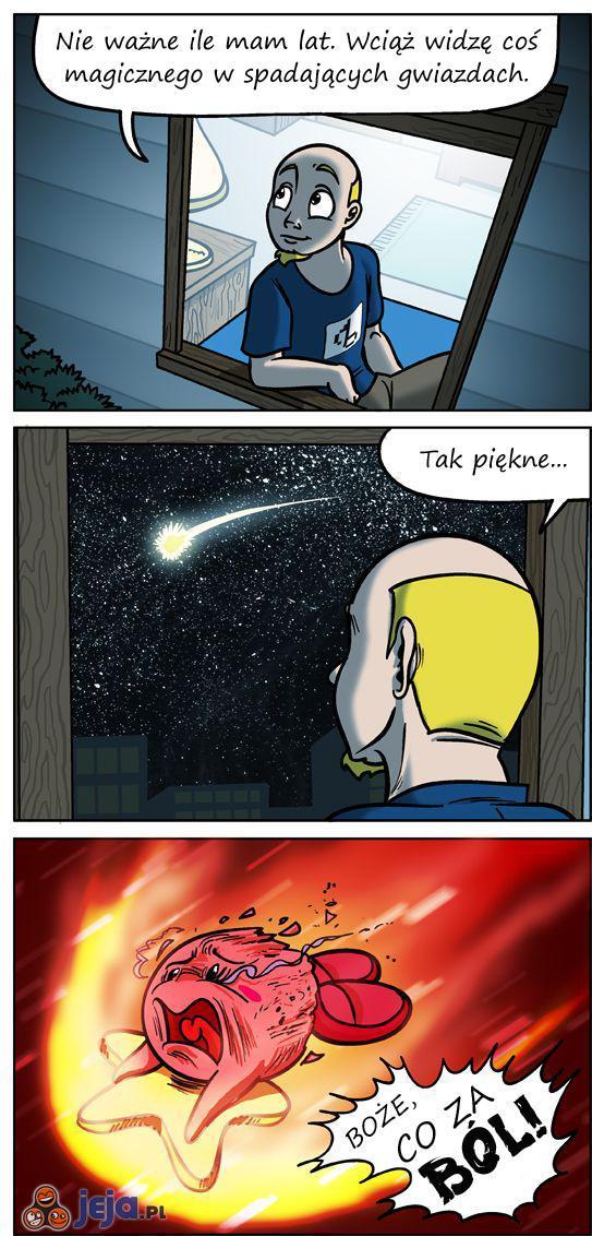Spadająca gwiazda...