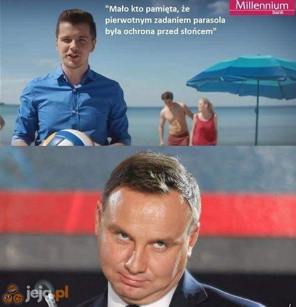 Andrzej, spokojnie, to tylko reklama