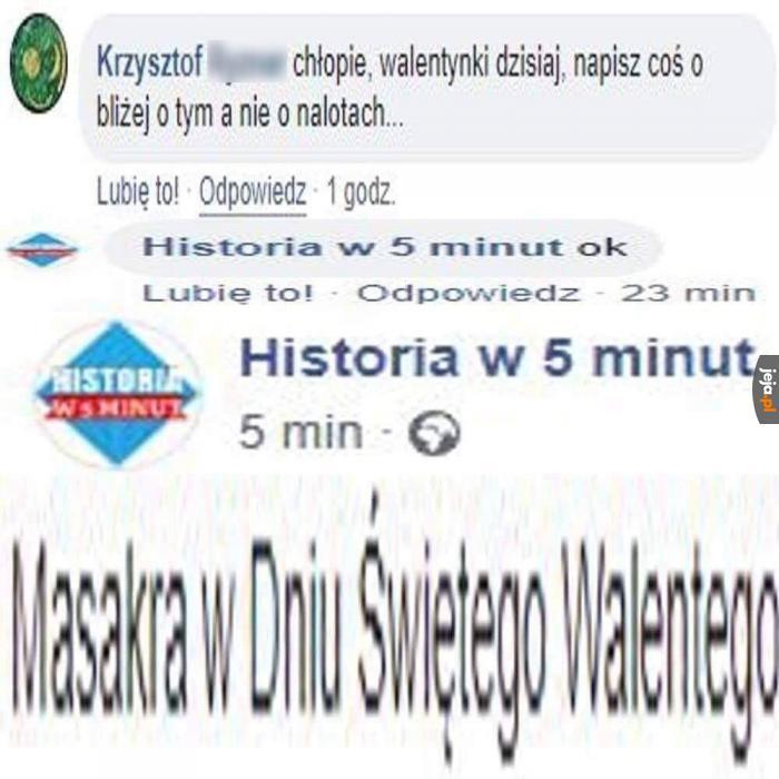 Prawdziwy pasjonat historii