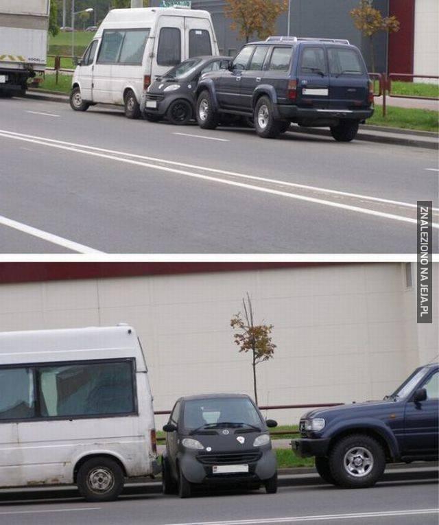 Parkowanie level - smart