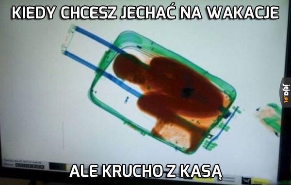 Podróżuję w klasie bagażowej