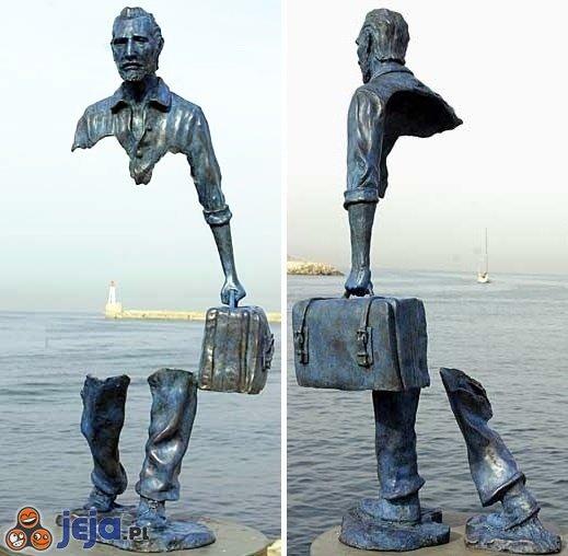 Niesamowita rzeźba