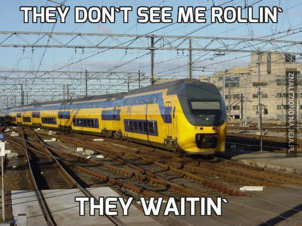 They don't see me rollin'