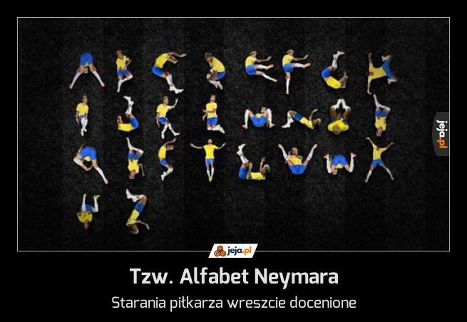 Tzw. Alfabet Neymara