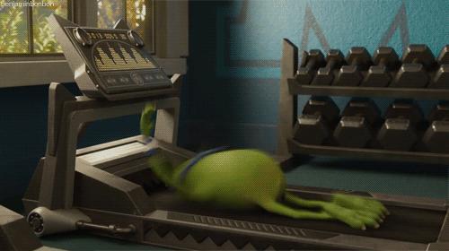 Gdy zabieram się za ćwiczenia...
