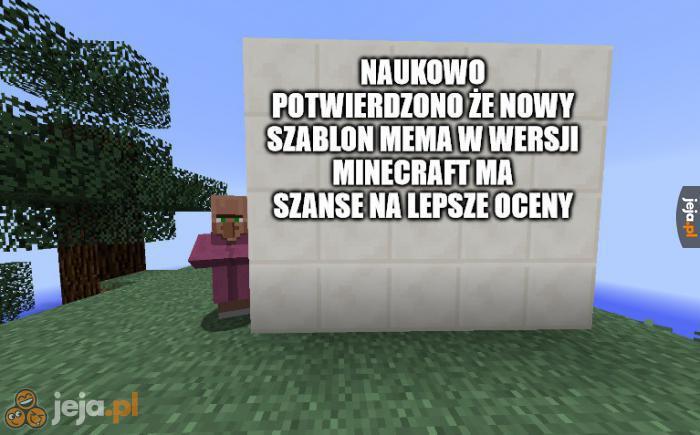 Jejacy chyba lubią Minecrafta