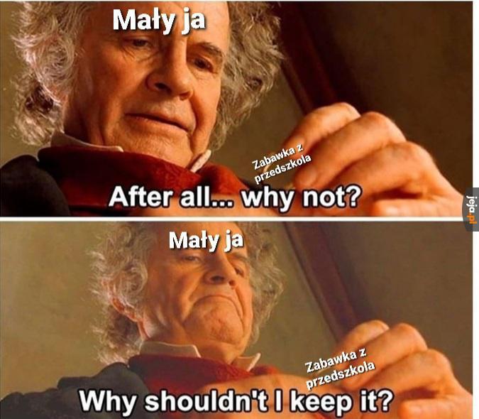 Dlaczego by jej nie zatrzymać?