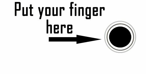 Przyłóż palec i... zaczekaj