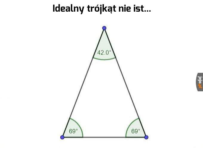 Ten trójkąt to symbol internetu