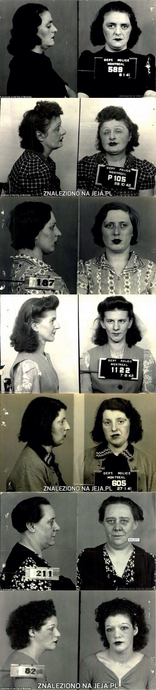 Kanadyjskie prostytutki. Rok 1940