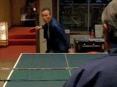 Mistrzowska partia ping-ponga