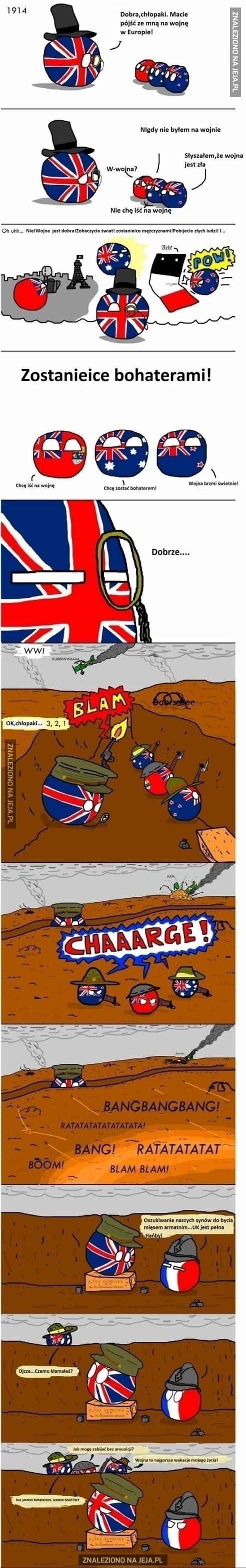 Wielka Brytania jest złym ojcem...