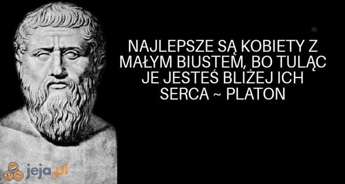 Wybitny człowiek z tego Platona