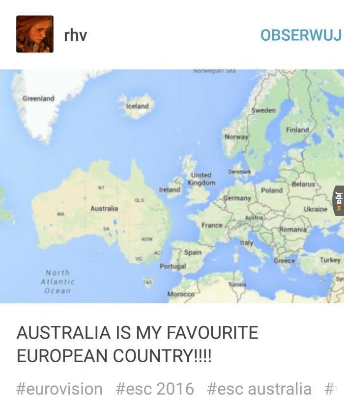 Australia zawsze na propsie