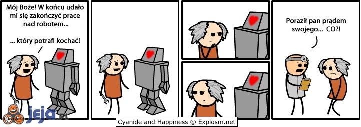 Robot, który potrafi kochać
