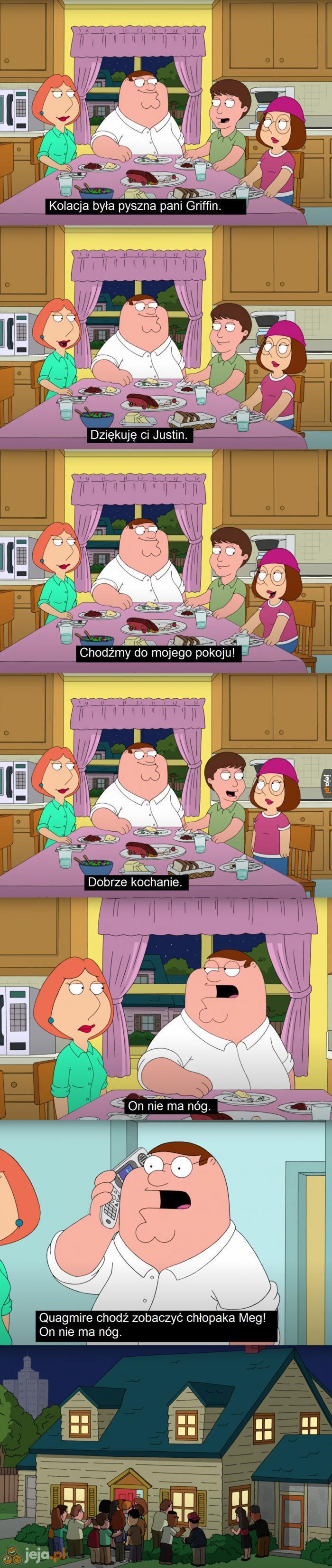 Najbardziej niezręczna kolacja z rodzicami dziewczyny w historii