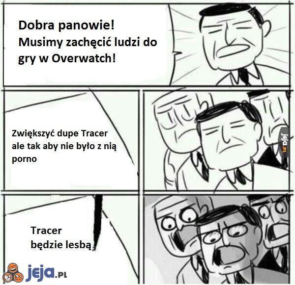Pomysł na Overwatch'a