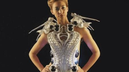 Sukienka drukowana w 3d? Żaden problem!